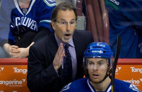 SPARKET: John Tortorella er ferdig i Vancouver.