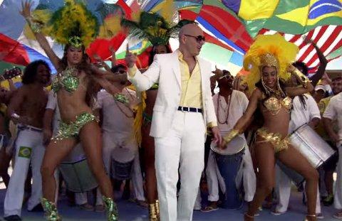 """IKKE LIKT: Den offisielle VM-låten """"We are one (Ole Ola)"""" er ikke blitt tatt godt i mot av hverken brasilianere eller andre fotballtilhengere. Sangen blir fremført av den amerikanske rapperen Pitbull."""