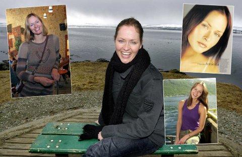 KROPPSFOKUS: Inger Lise Ebeltoft i forskjellige settinger opp gjennom karrieren. Til venstre et bilde av nyere dato.