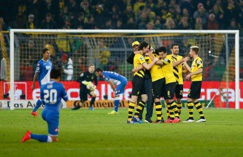 UTSLÅTT: Hoffenheim er ute av cupen i Tyskland.