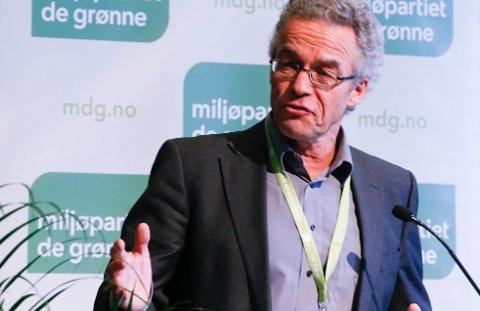 Rasmus Hansson, talsperson i Miljøpartiet De Grønne (MDG).