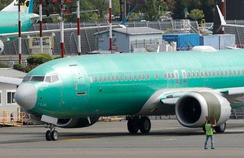 TAKE-OFF I JANUAR: American Airlines forventer at de to programvareoppdateringene på flyene vil være godkjent innen enden av året, og kunngjorde onsdag at de planlegger å gjenoppta flygingene med Boeing 737 MAX fra 16. januar neste år, ifølge ABC. Illustrasjonsfoto.