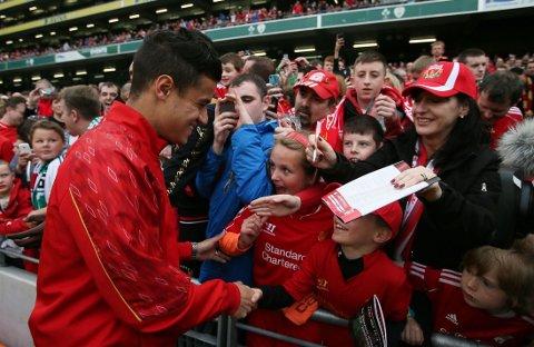 NYTT TILBUD: Liverpool ønsker å forlenge med Philippe Coutinho.