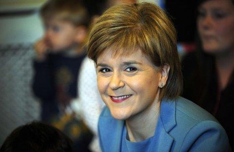 SNP: Et uavhengig Skottland er partiet og førsteminister Nicola Sturgeon største mål, noe som ikke gikk under fjorårets folkeavstemning.