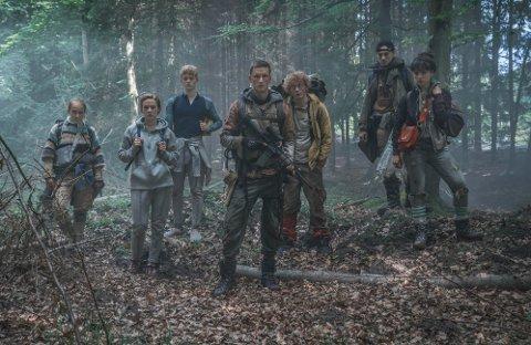 Et av de første glimtene fra Netflix' kommende danske storsatsing, «The Rain».