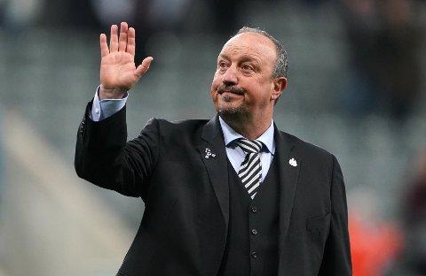 FERDIG: Rafael Benitez forlater Newcastle.
