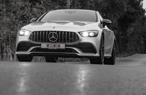 AMGs nedtonede GT-utgave er en stilstudie om hva som skjer når en bilprodusent gjør alt i sin makt for å tilby noe for alle behov.
