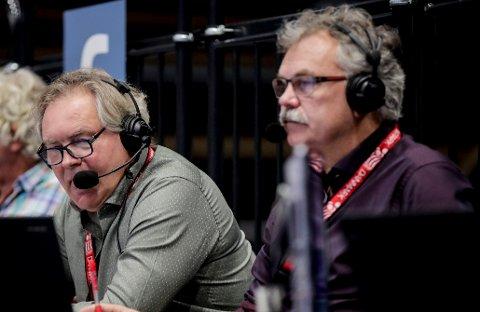 UENIG MED EREVIK: TV 2s erfarne kommentator Harald Bredeli mener vi må ta vare på den norske supporterkulturen.