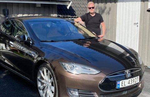 Det tok ikke en gang en time fra Marius Brenna Wilberg la ut Teslaen for salg – til bilen ble solgt.