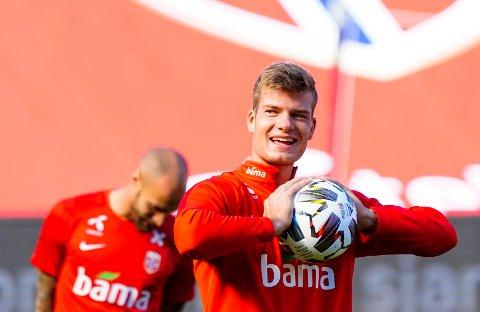 - PÅ VEI TIL TYSK FOTBALL: Alexander Sørloth.