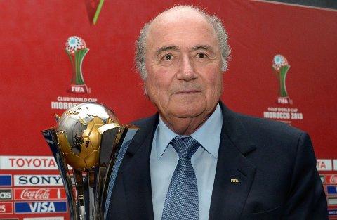 PRESIDENT: Sepp Blatter vil slå et slag for menneskerettigheter.