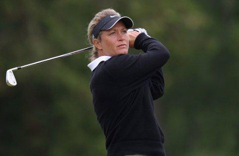 KLAR: Suzann Pettersen spiller U.S. Open.