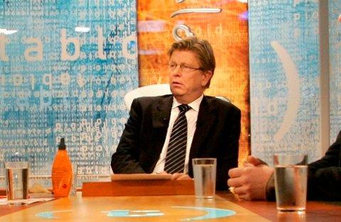 STORHETSDAGENE: Pål T. Jørgensen har vært med TV 2 siden starten, og er en av kanalens store profiler. I mange år ledet han debattprogrammet «Tabloid».