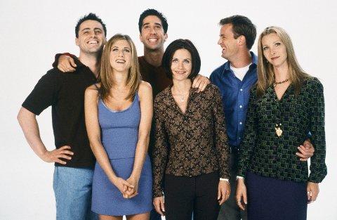 FRIENDS: Den populære serien med de kjente karakterene Monica, Pheobe, Rachel, Joey, Chandler og Ross er et eksempel på den ultimate vennegjengen som ikke finnes i virkeligheten