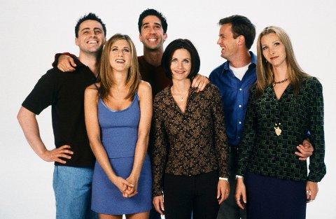 FRIENDS: TV-serien vi elsker like mye i dag som for 22 år siden, da den først hadde premiere.