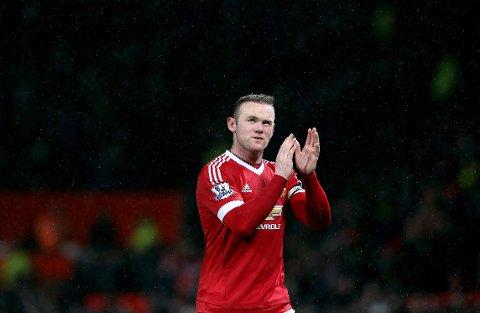 13 SESONGER: Wayne Rooney takker for seg etter 13 sesonger i Manchester United.