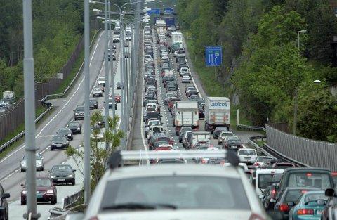 REISING: Pinsetrafikken har pleid å være stor hvert år. Arkivfoto: Terje Bendiksby/NTB