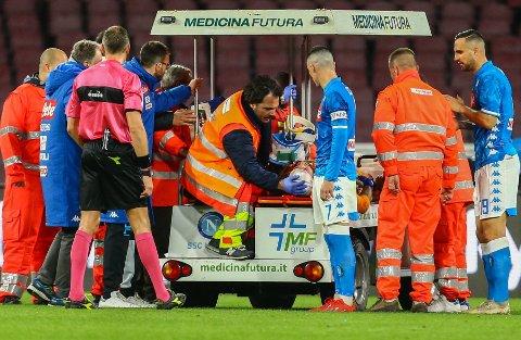 GÅR BRA: Det skal gå bra med David Ospina etter søndagens kollaps.
