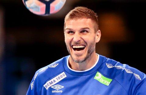NY AVTALE: Bajrte Myrhol trengte bare tre minutter med å bli enig med danske Skjern.