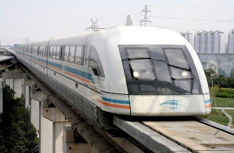 MAGNETTOG: Magnettog, her fra Shanghai i 2006.