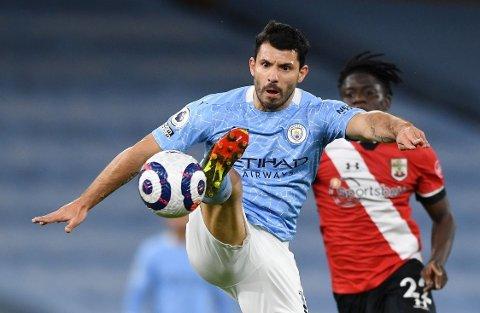 FERDIG I CITY? Sergio Aguero har vært en nøkkelspiller for Manchester City.