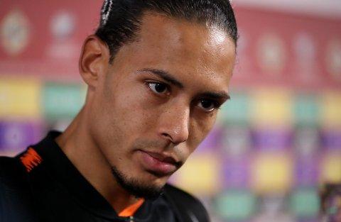 SKADET: Virgil van Dijk kommer ikke til å spille for Nederland i sommer.