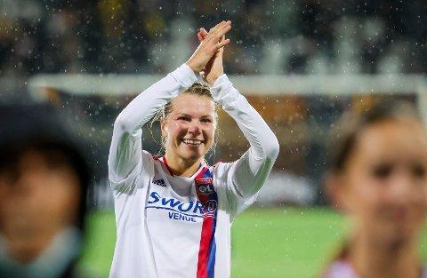 Ada Hegerberg var nær scoring i sitt hjemmecomeback etter skadene. Foto: Adam Ihse, TT / NTB