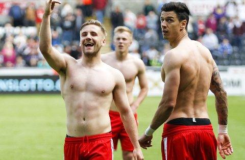 TIL UNITED? Southamptons Luke Shaw bytter trolig klubb i sommer.