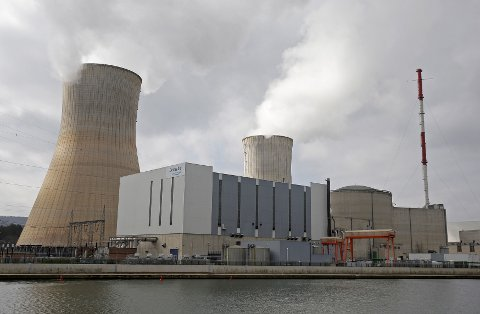Kjernekraftverket i Tihange, ett av to store atomanlegg i Belgia.