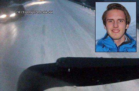 Charlie (22) lå i koma på UNN etter å ha blitt truffet av et vogntog på E8 i Balsfjord 7. januar i år. 21. januar døde han.