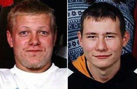 Jan Helge Andersen (til høyre) har sonet ferdig dommen, mens Viggo Kristiansen ble dømt til forvaring og sitter inne fremdeles.