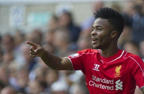 STJERNE: Raheem Sterling er i ferd med å bli en av Liverpools viktigste spillere.