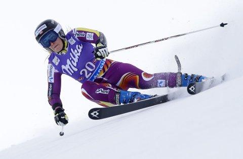 IMPONERTE: Nina Løseth ble nummer fem i slalåmrennet i Levi på lørdag. Her fra verdenscupåpningen i Sölden i oktober.