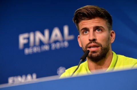 VIL IKKE SAMMENLIGNE: Barcelonas Gerard Pique.