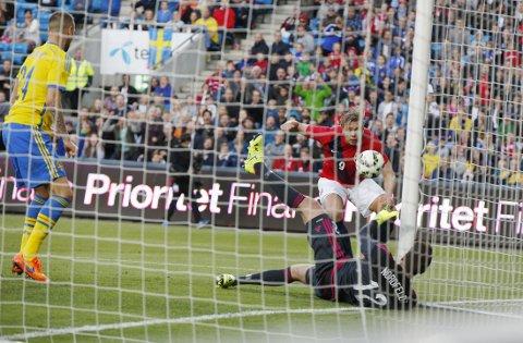 BOM; BOM: Alexander Søderlund fikk flere gode sjanser.