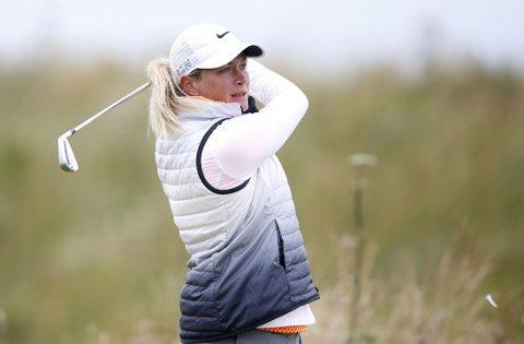 LEDER: Suzann Pettersen leder i British Open.