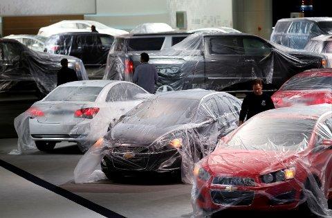 Illustrasjonsfoto fra en General Motors-messe i Detroit i 2014