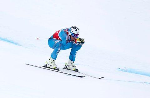 TIL TOPPS: Kjetil Jansrud vant sitt første verdenscuprenn siden 27. desember da han var aller raskest i utforløypa i Kvitfjell på lørdag.
