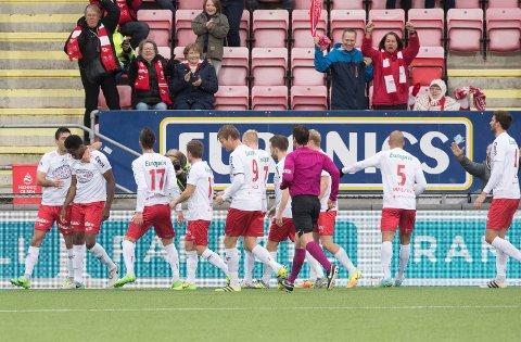 JAKTER OPPRYKK: Fredrikstad er blant lagene som jakter opprykk fra PostNord-ligaen denne sesongen.