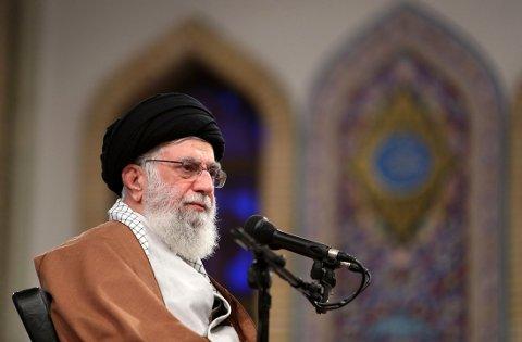 Irans leder Ali Khamenei.