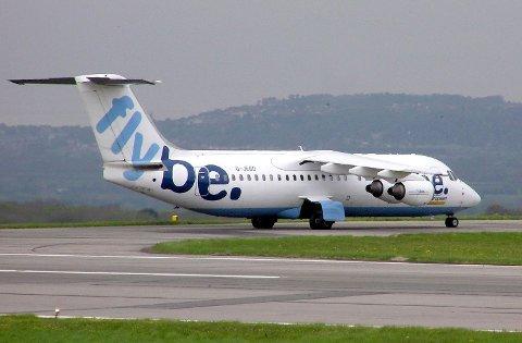 MOT KONKURS: Det britiske flyselskapet Flybe trues av konkurs grunnet coronaviruset.