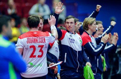 EM-KVALIFISERING: Norges håndballgutter skal ut i aksjon mot Latvia og Italia i første del av kvalifiseringen.