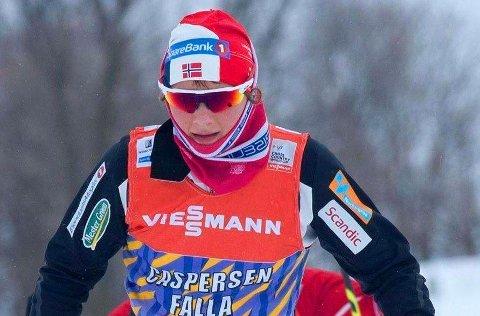 MED I TOPPEN: Maiken Caspersen Falla har fått opp dampen igjen. Hun trenger et bedre resultat enn hun klarte i Drammen for å vinne sprintcupen sammenlagt.