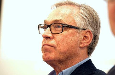 KRITISERES: Sykkelpresident Harald Tiedemann Hansen.