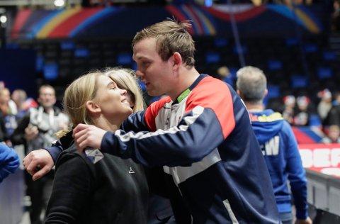 HERJET: Sander Sagosen storspilte i møtet med Bosnia.
