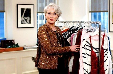 Meryl Streep i rollen som Miranda Riley i «The Devil Wears Prada».