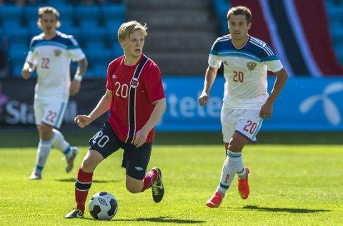 FRISK: Mats Møller Dæhli fikk bare 45 minutter på banen, men brukte dem godt.