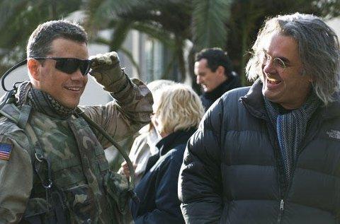 PAUL GREENGRASS har laget flere filmer med Matt Damon, her fra The Green Zone.