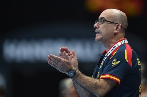 Spania-trener Jordi Ribera må klare seg uten keeper Rodrigo Corrales.