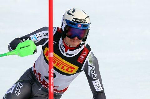 VM: Henrik Kristoffersen avsluttet VM med en skuffende slalåm.